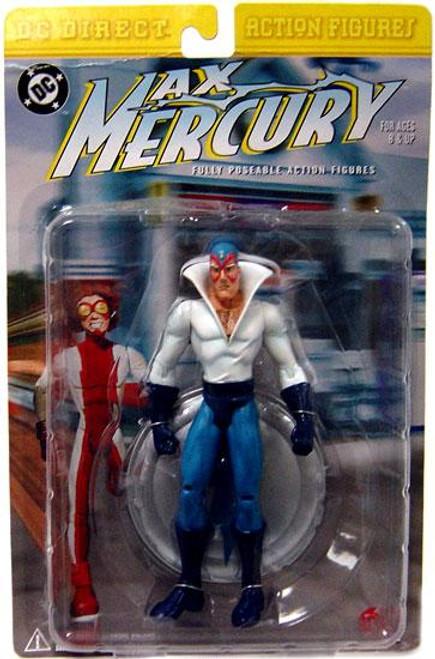 DC Max Mercury Action Figure