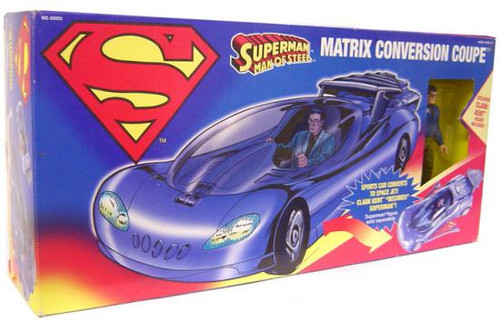 Superman Man of Steel Matrix Conversion Coupe Exclusive Action Figure Vehicle