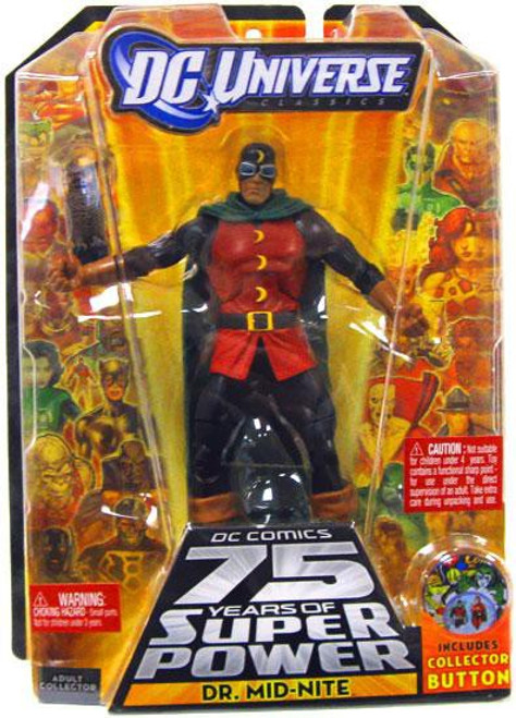 DC Universe 75 Years of Super Power Classics Dr. Mid-Nite Action Figure