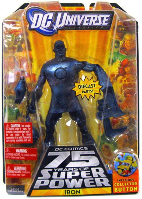DC Universe 75 Years of Super Power Classics Iron Action Figure