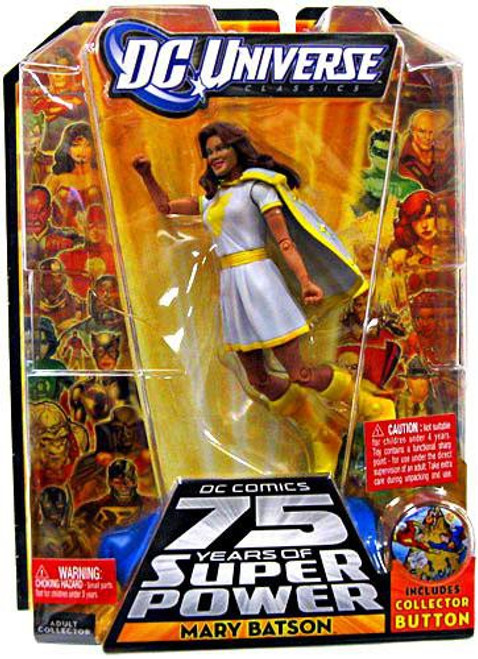 DC Universe 75 Years of Super Power Classics Mary Batson Action Figure [White Outfit]