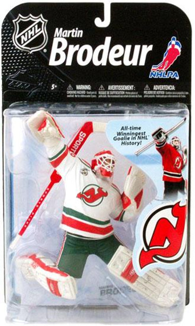 McFarlane Toys NHL New Jersey Devils Sports Picks Series 22 Martin Brodeur Action Figure [Retro White Jersey Variant]