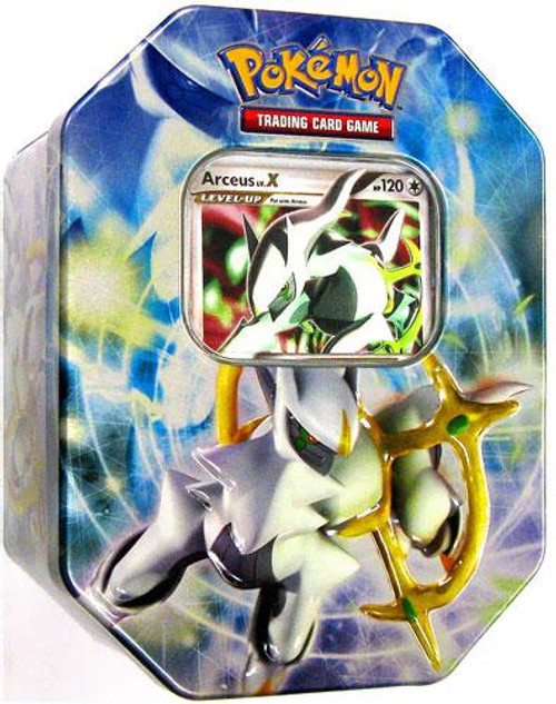 Pokemon 2009 Arceus Collector Tin [Blue]