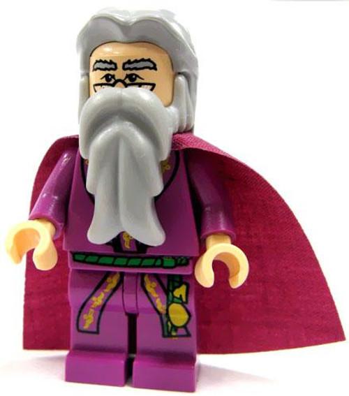 LEGO Harry Potter Loose Albus Dumbledore with Purple Cape Minifigure #1 [Light Purple Cape Loose]