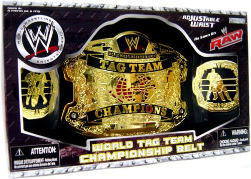 WWE Wrestling Kids Replicas World Tag Team Championship Championship Belt [Raw]