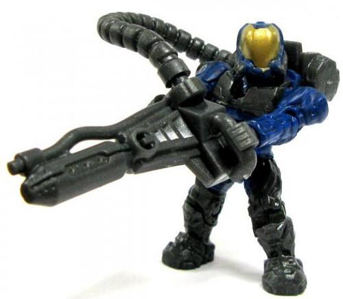 Mega Bloks Halo Loose Flame Marine 2-Inch Minifigure [Blue Loose]