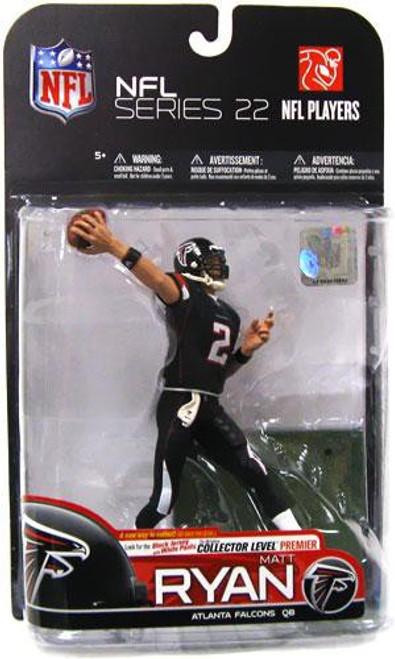 McFarlane Toys NFL Atlanta Falcons Sports Picks Series 22 Matt Ryan Action Figure [Black Jersey & Black Pants Variant]