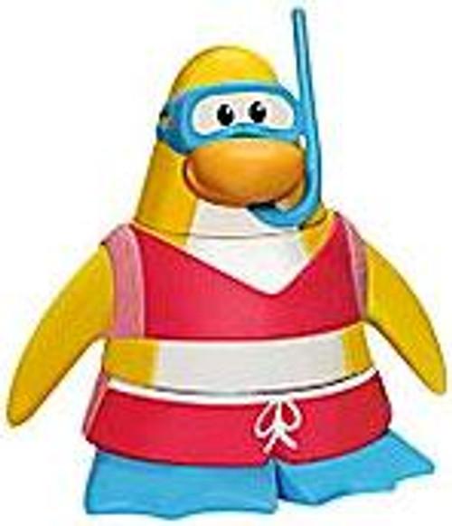 Club Penguin Snorkeler 2-Inch Mini Figure