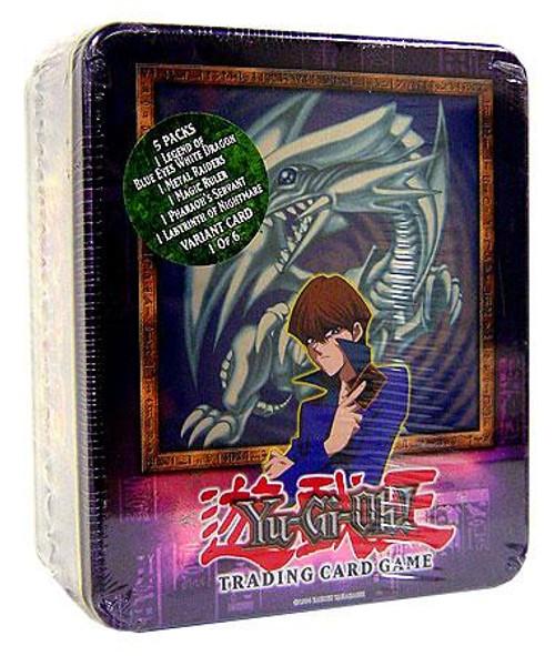 YuGiOh 2003 Collector Tin Kaiba's Blue Eyes White Dragon Collector Tin [Sealed]