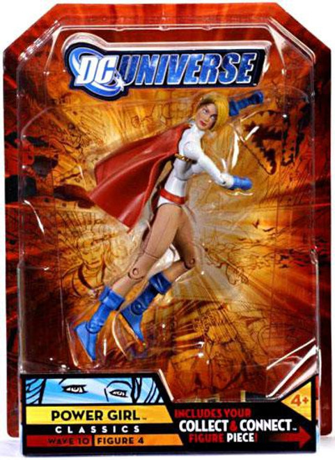DC Universe Classics Wave 10 Power Girl Exclusive Action Figure #4