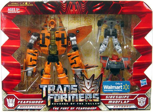 Transformers Revenge of the Fallen The Fury of Fearswoop Exclusive Action Figure Set