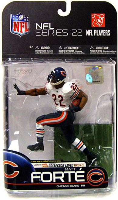 McFarlane Toys NFL Chicago Bears Sports Picks Series 22 Matt Forte Action Figure [White Jersey Bronze]