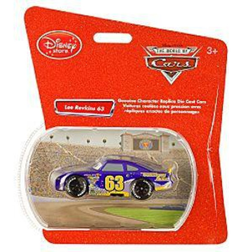 Disney Cars 1:48 Single Packs Lee Revkins No. 63 Exclusive Diecast Car [Transberry Juice]