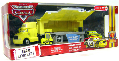 Disney Cars The World of Cars Multi-Packs Team Leak Less 3-Pack Exclusive Diecast Car Set