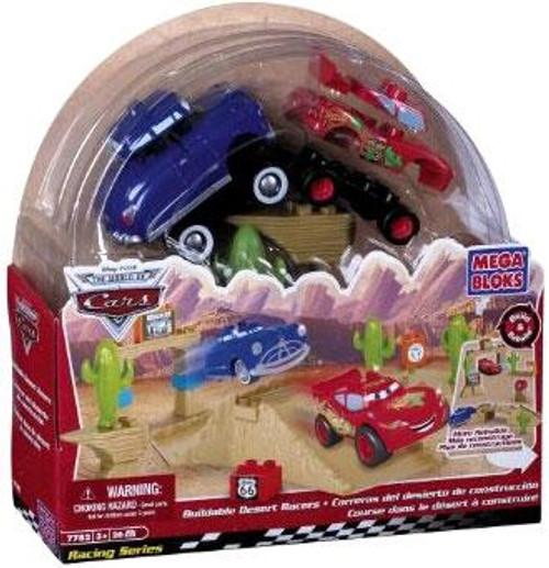 Mega Bloks Disney Cars The World of Cars Buildable Desert Racers Set #7782