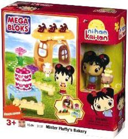 Mega Bloks Ni Hao, Kai-lan Mister Fluffy's Bakery Set #3137