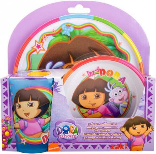 Dora the Explorer 3-Piece Mealtime Set