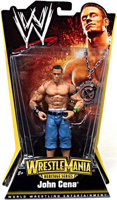 WWE Wrestling WrestleMania Heritage Series 1 John Cena Action Figure