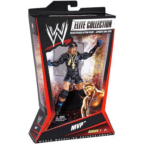 WWE Wrestling Elite Series 1 MVP Action Figure
