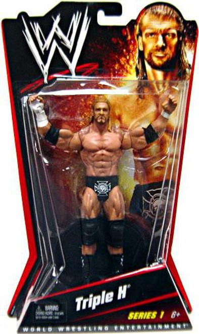 WWE Wrestling Series 1 Triple H Action Figure