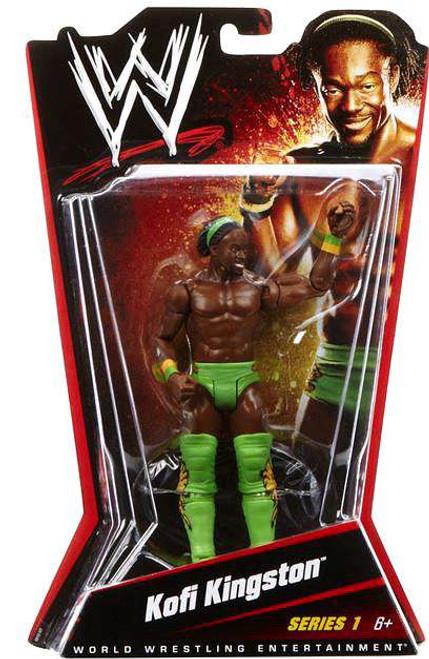 WWE Wrestling Series 1 Kofi Kingston Action Figure