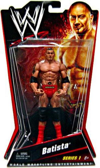 WWE Wrestling Series 1 Batista Action Figure