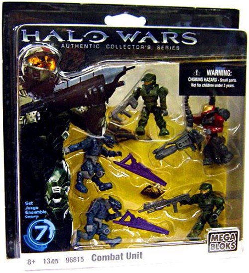 Mega Bloks Halo The Authentic Collector's Series Combat Unit Exclusive Set #96815