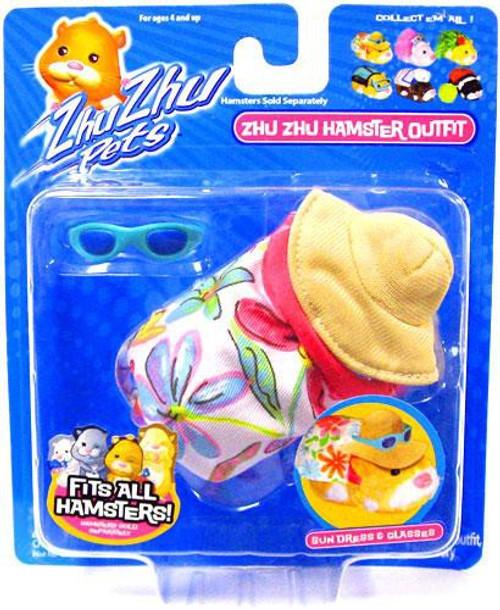 Zhu Zhu Pets Series1 Hamster Outfit Sundress & Glasss Accessory Set