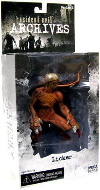 NECA Resident Evil Archives Series 1 Licker Action Figure