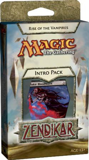 MtG Zendikar Rise of the Vampires Intro Pack [Sealed Deck]