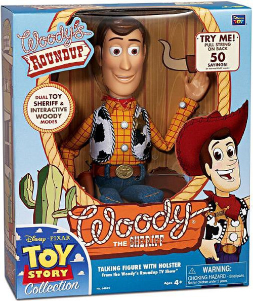 Toy Story Woody's Roundup Woody the Sheriff Action Figure