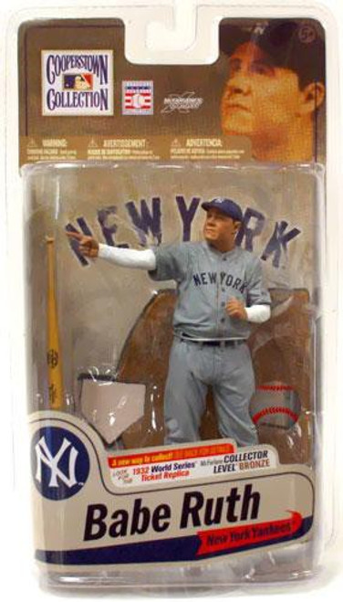 McFarlane Toys MLB Cooperstown Collection Series 7 Babe Ruth Action Figure