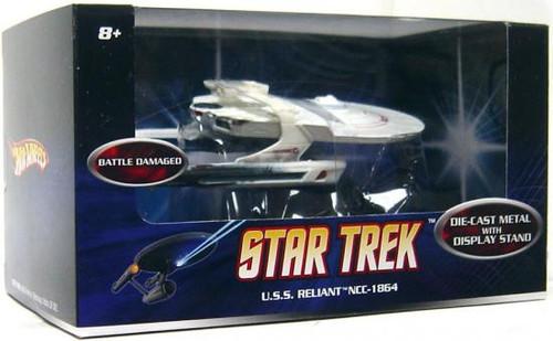 Star Trek The Wrath of Khan Hot Wheels U.S.S. Reliant NCC-1864 Diecast Vehicle [Battle Damaged]