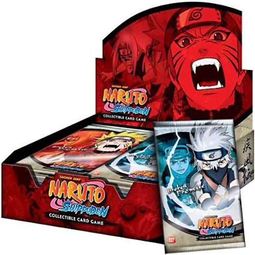 Naruto Shippuden Card Game Broken Promise Booster Box [24 Packs]