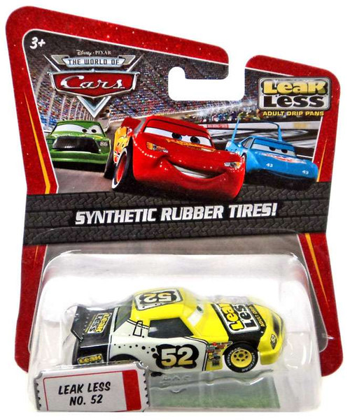 Disney Cars The World of Cars Synthetic Rubber Tires Leak Less No. 52 Exclusive Diecast Car