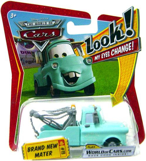 Disney Cars The World of Cars Lenticular Eyes Series 1 Brand New Mater Diecast Car