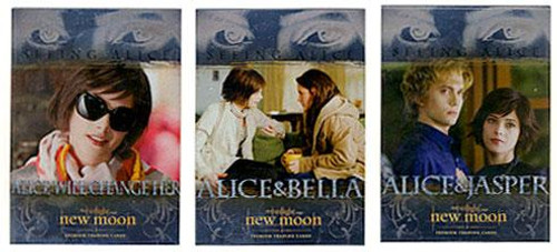 NECA Twilight New Moon Seeing Alice Chase Trading Card Set