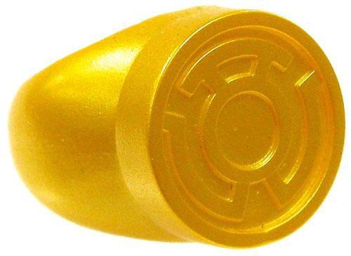 Green Lantern Blackest Night Yellow Sinestro Corps Ring Prop Replica