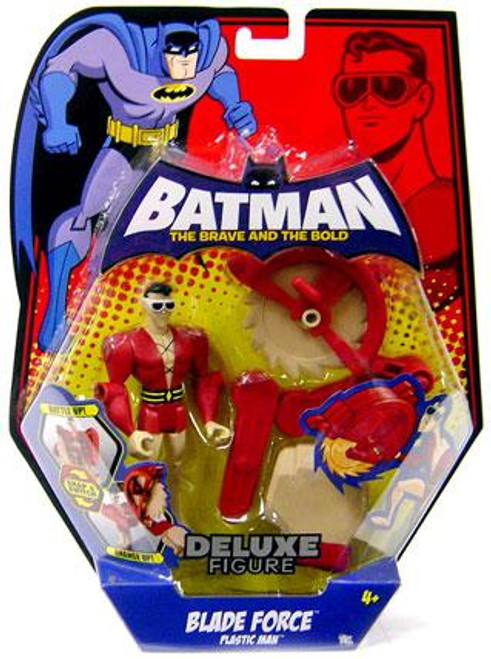Batman The Brave and the Bold Deluxe Blade Force Plastic Man Action Figure
