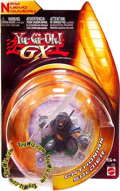 YuGiOh GX 3-Inch Figures Chthonian Soldier Action Figure