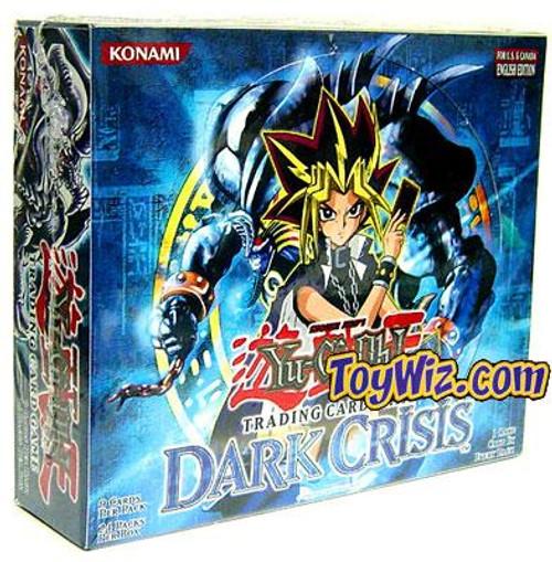 YuGiOh Dark Crisis Booster Box [36 Packs] [Sealed]