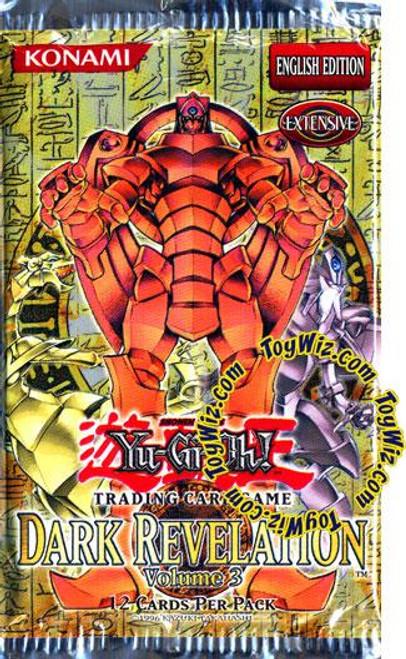 YuGiOh Dark Revelation 3 Booster Pack
