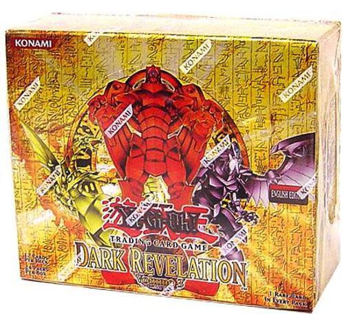 YuGiOh Dark Revelation 3 Booster Box [24 Packs] [Sealed]