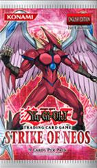 YuGiOh Strike of Neos Booster Pack