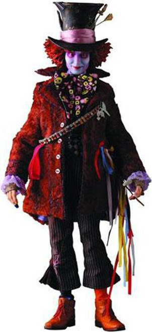 Alice in Wonderland Real Action Heroes Mad Hatter Action Figure [Johnny Depp]