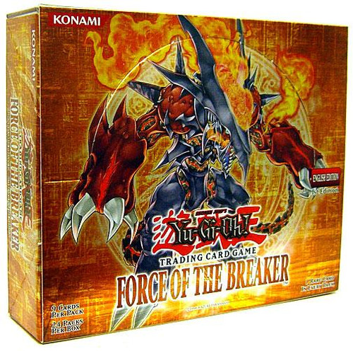 YuGiOh Force of the Breaker Booster Box [24 Packs] [Sealed]