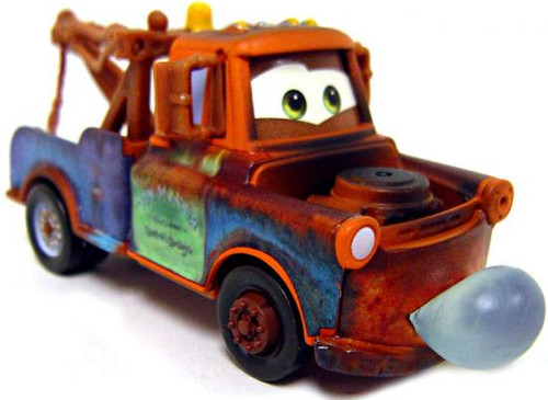 Disney Cars Loose Lenticular Blowing Bubbles Mater Diecast Car [Loose]