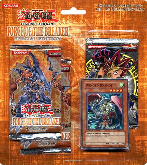 YuGiOh Force of the Breaker Special Edition Pack [Winged Rhynos] [Sealed]