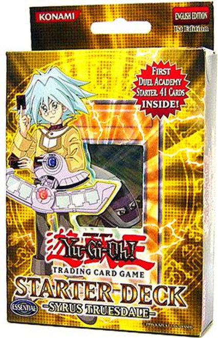 YuGiOh Starter Deck: Syrus Truesdale Syrus Truesdale Starter Deck [Sealed Deck]