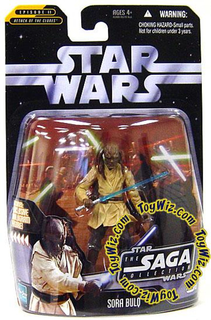 Star Wars Attack of the Clones Saga Collection 2006 Sora Bulq Action Figure #15